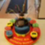 Birthday cakes for boys, boys celebration cakes in Liverpool