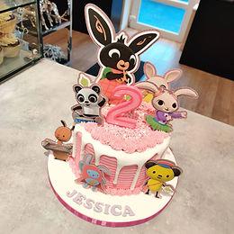 Bing Drip Cake 🌈