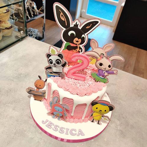 Bing Birthday Cake