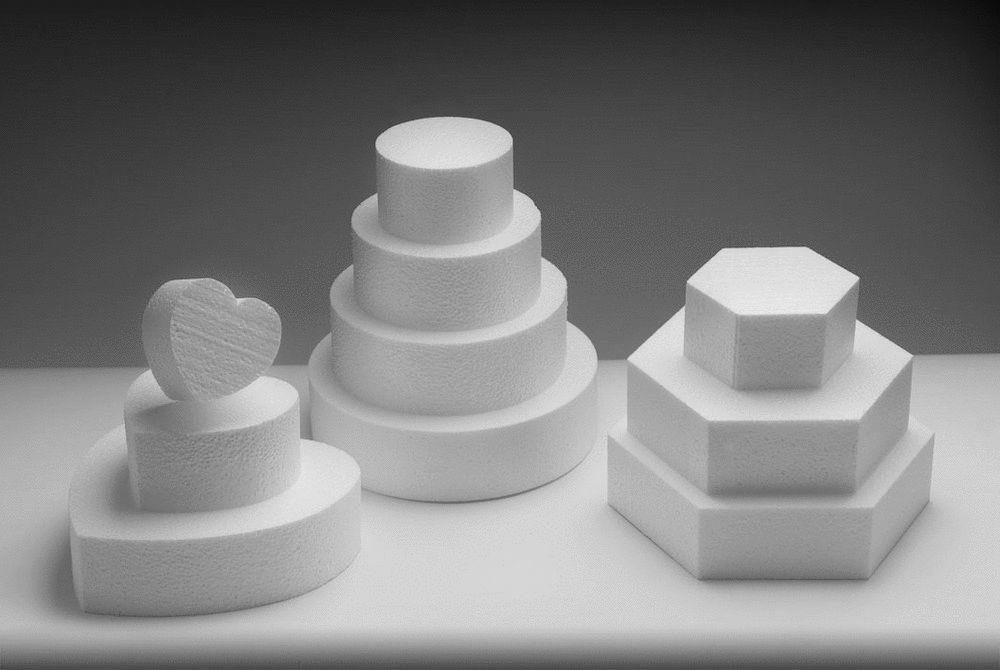 Wedding Cake Dummy tiers