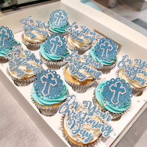 Christening Cupcakes in Liverpool