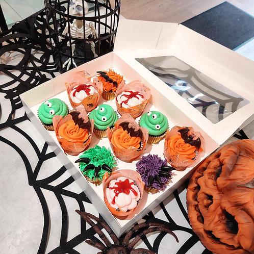 Spook-tacular 🕸️ Halloween Cupcakes 🎃