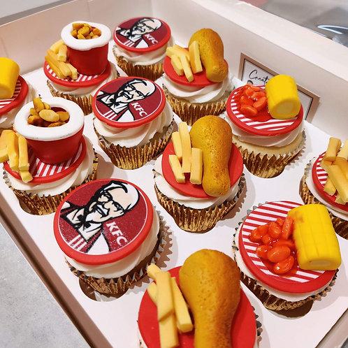 K.F.C Cupcakes 🍗🍟