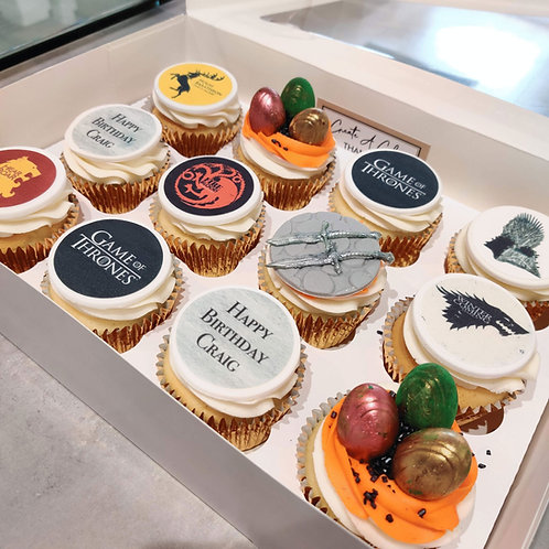 Game of Thrones Cupcakes ⚔️🐉