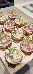 Butterfly/Age Birthday Cupcakes