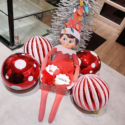 Elf on The Shelf Character with Cupcakes ❤️