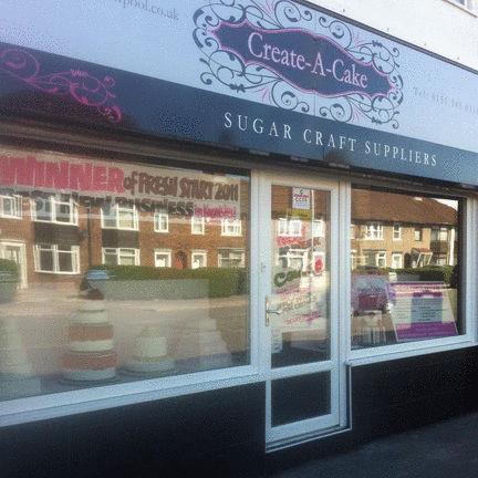 Create A Cake - Cake Shop Liverpool
