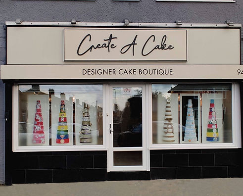 Create A Cake shop front in Liverpool