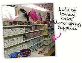 Cake decorating supplies Liverpool