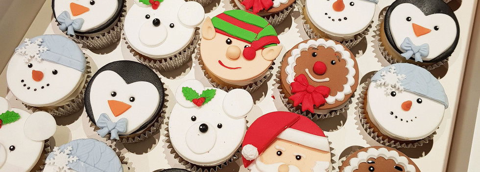 Christmas Cupcakes In Liverpool