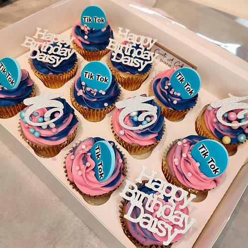 TikTok cupcakes Liverpool