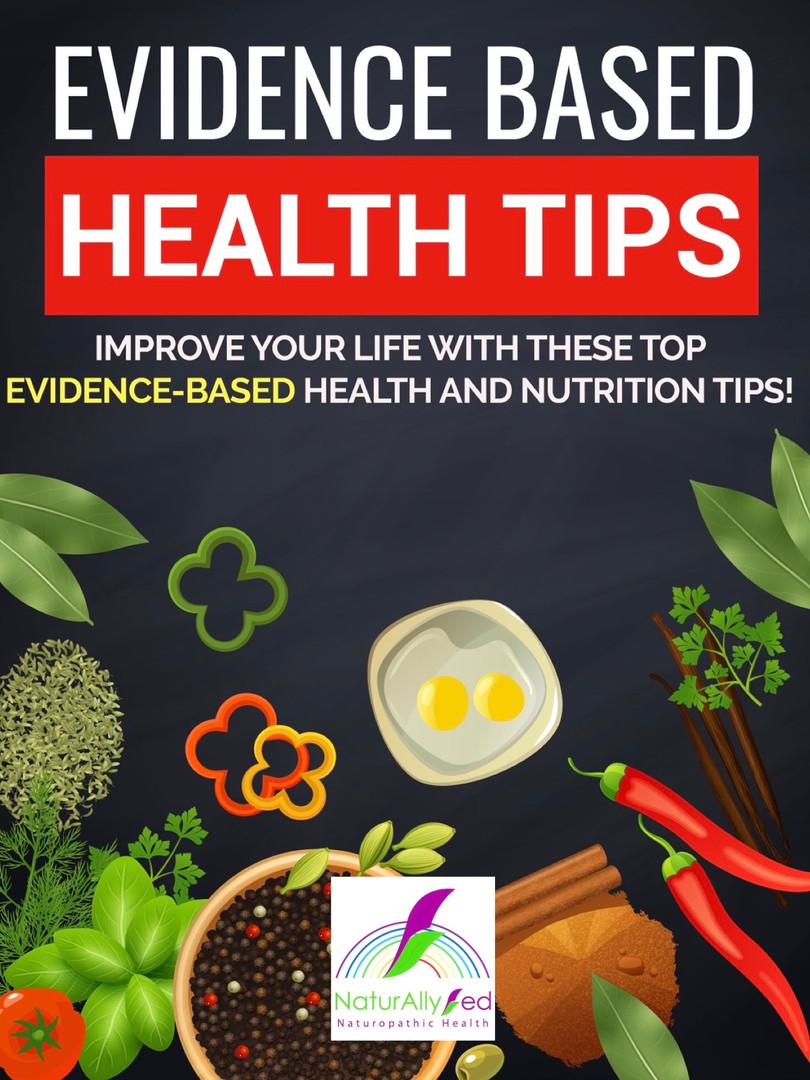 Evidence Based Health Tips