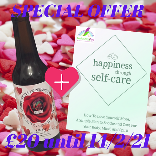 Red Rose + Happiness Course Offer