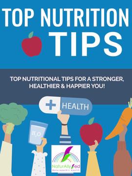 Top Nutrition Tip ebook
