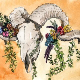 Ramskull and Flowers