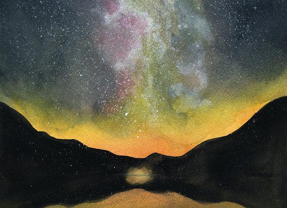 Lake Antholz, Italy - 9x12 limited print