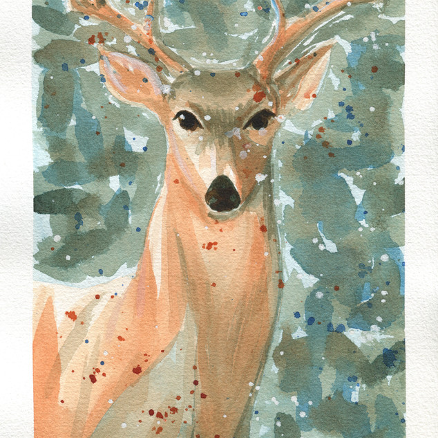 Deer, 2 colors
