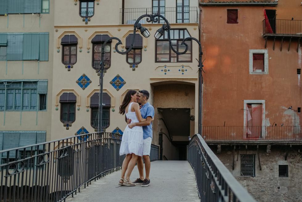 Sesión de fotos en Girona