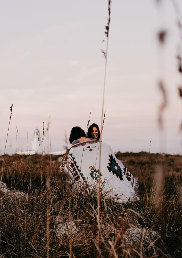 Sesión de fotos de pareja en Cavalleria