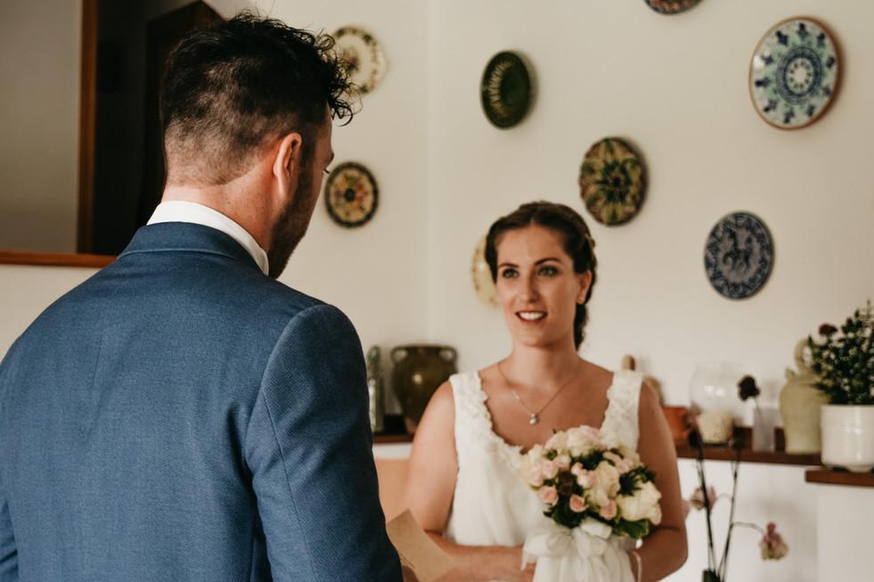 Fotografía de bodas en Menorca. Boda en Alcaufar Vell