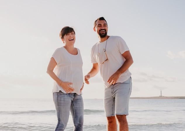 Sesión de fotos de pareja en Menorca