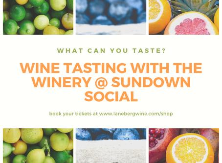 Wine Tasting @ the Sundown Social, Saltwell Park - 27th July 2019.