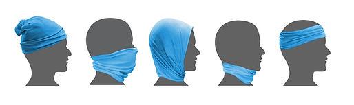 multi headwear with logo
