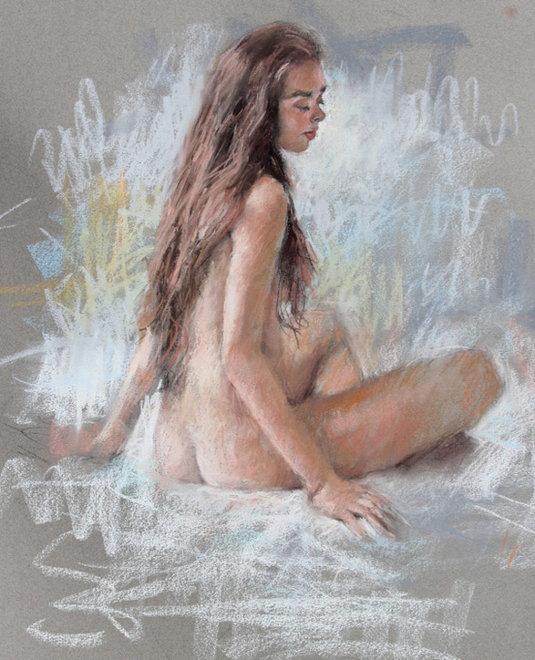 Pastel Figure II