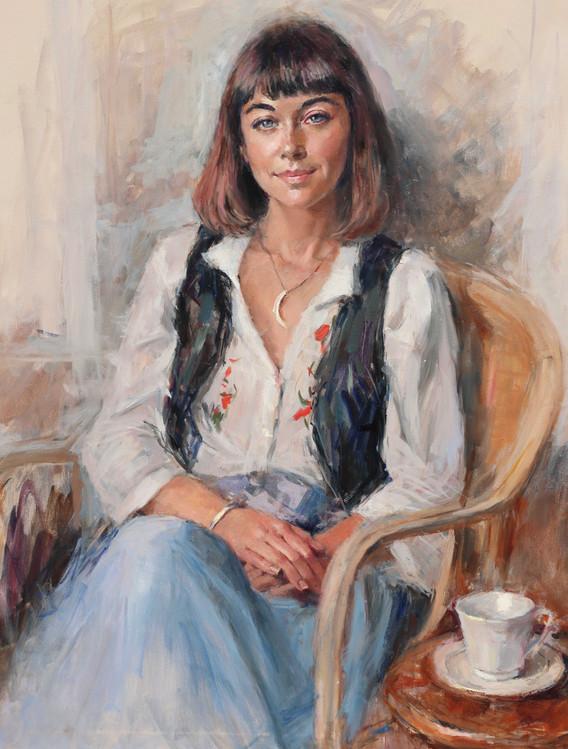 Faye 30in x 36in oils on canvas