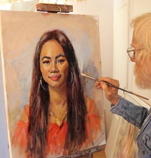 Painting Wan