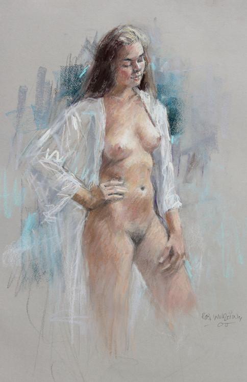 Pastel Figure I