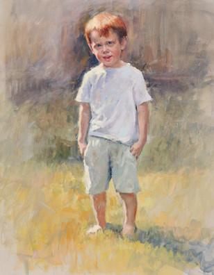 Portrait study of Ben