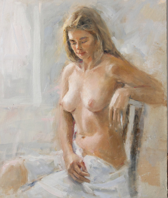 Figure study sitting