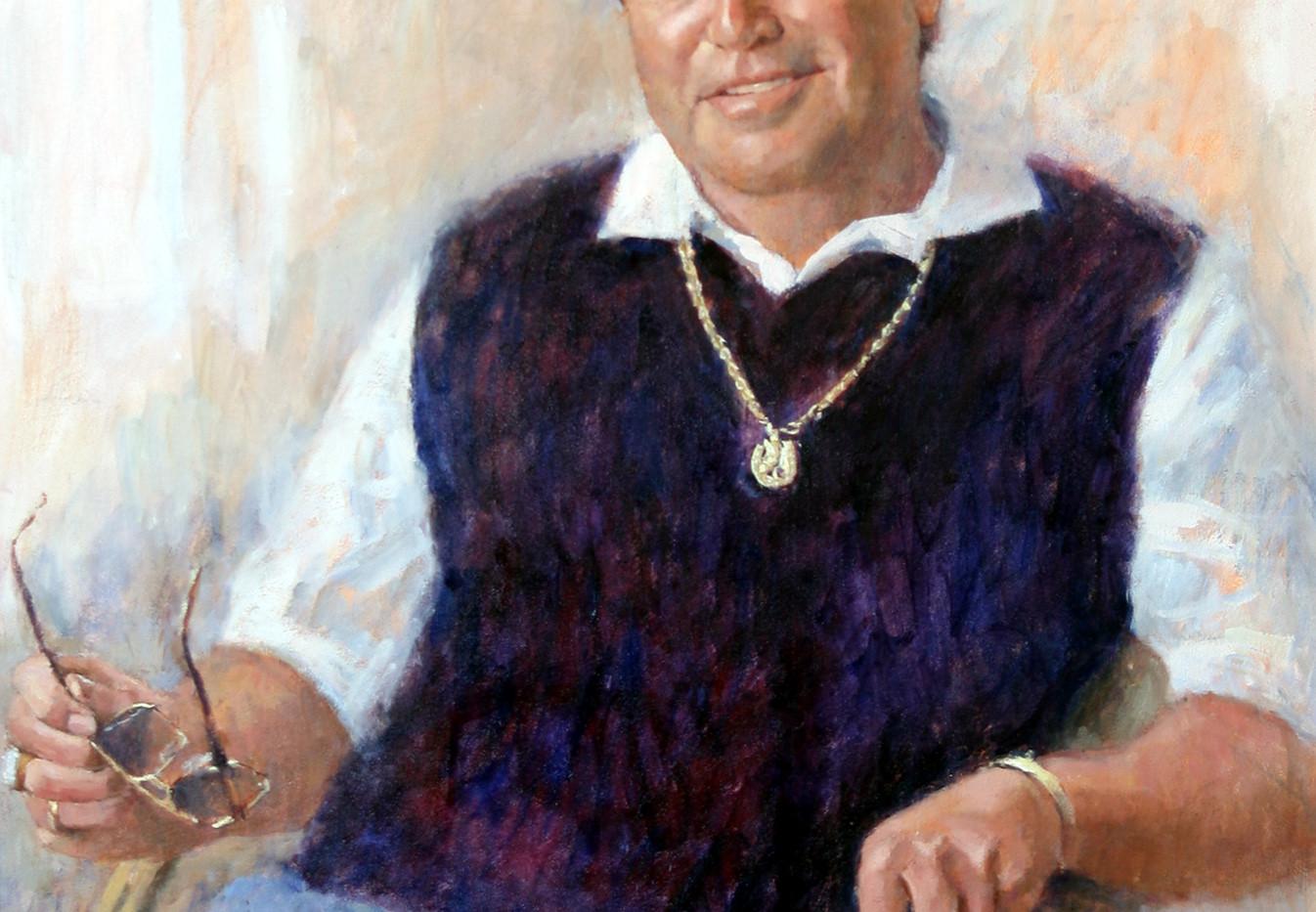 Oil Portrait commission Mr N Deetlefs