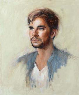 Portrait of Wren 20in x 24in