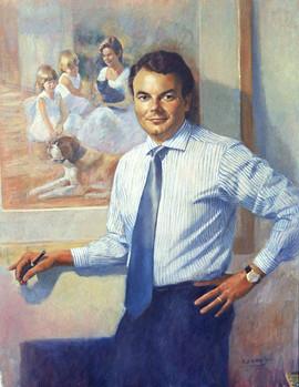 Portrait commission of Mr G Giacetti