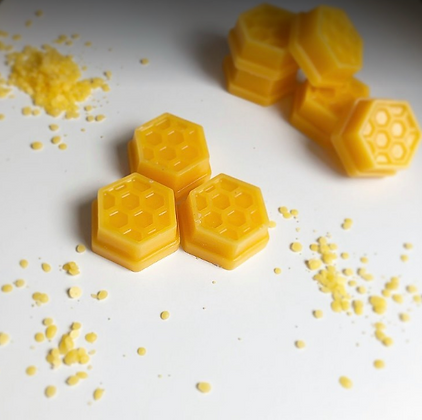 Unscented Pure Organic Beeswax Honeycomb Wax Melts