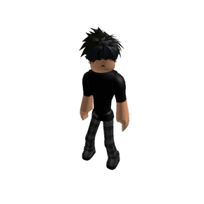 Roblox Oder Slender Outfit with Black Tee & Pjs