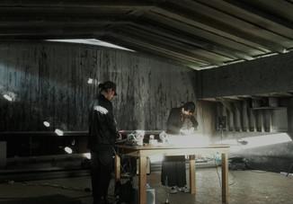 w/Mizuki Ishikawa at Hošek Comtemporary