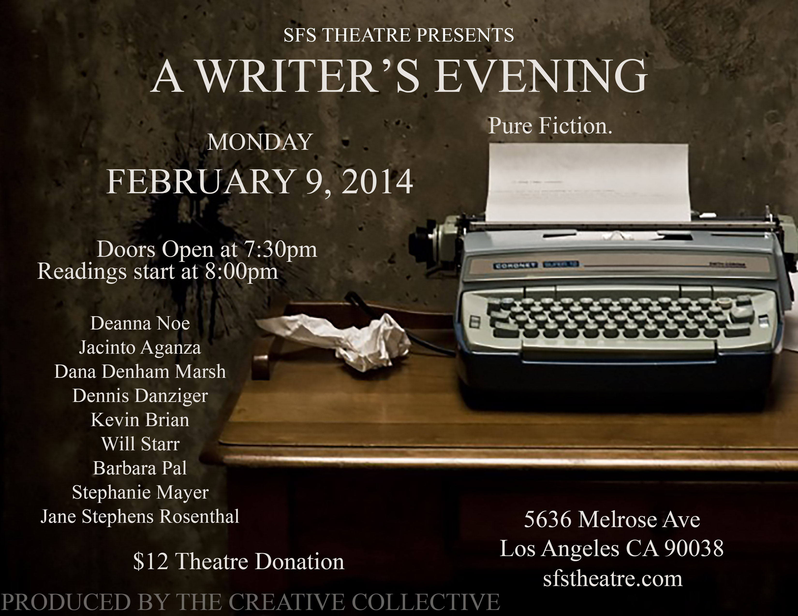 WritersEvening