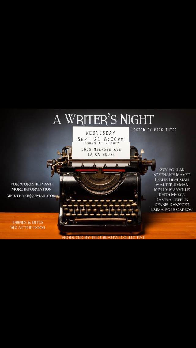 A Writer's Night