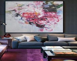 אומנות בבית.... תליית תמונות ובחירת אומנות תוך התייחסות לעיצוב הפנים.