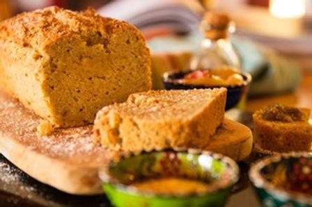 לחם מקמח שקדים וקוקוס