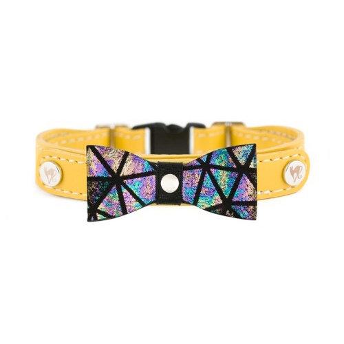 Smart Animal Cat Collar - Prestige Collection (Yellow)