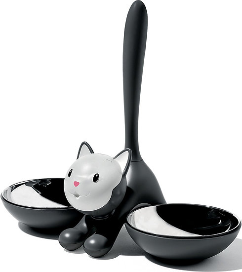 Alessi Tigrito Cat Bowl (Black)