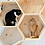 Thumbnail: MyZoo BusyCat (Pine) Wall Mounted Cat Bed