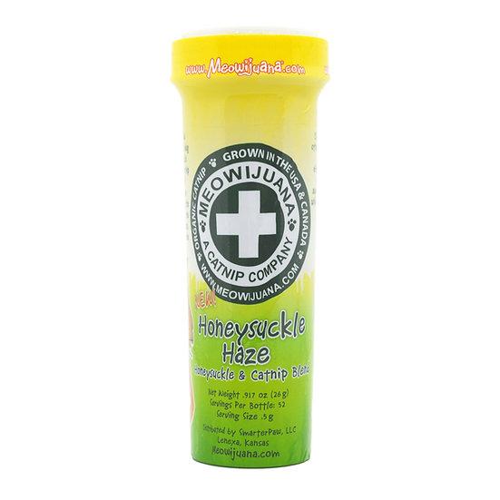 Meowijuana Honeysuckle Haze - Catnip + Honeysuckle Blend