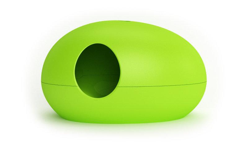 Poopoopeedo Cat Litter Box (Green)