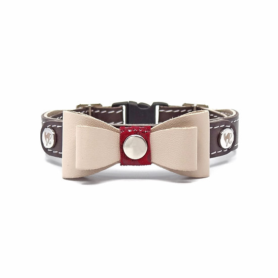 Smart Animal Cat Collar - Prestige Collection (Brown)