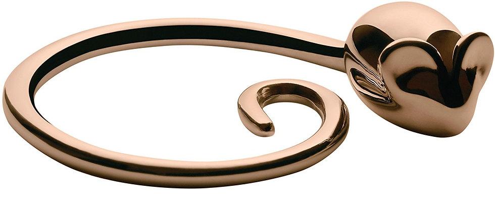 Alessi Pip Keyring (Golden Pink)